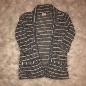 Pins And Needles Opened Striped Cardigan